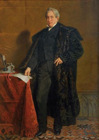 Francesco Saverio Altamura, Ritratto di Carlo Troya